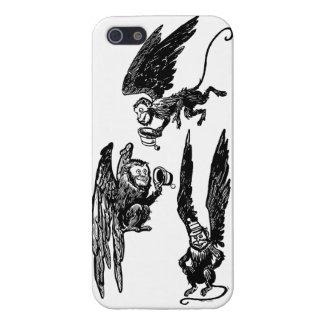 Singes mignons de vol ! Cas de magicien d'Oz Coques iPhone 5