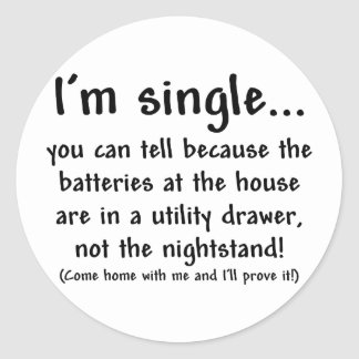 single_man sticker rond