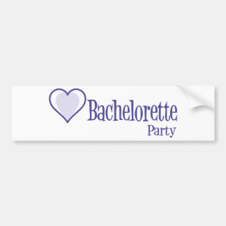 SingleHeart-BacheloretteParty-Ind Autocollant Pour Voiture