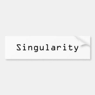 Singularité Autocollant Pour Voiture
