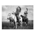 Sioux Chiefs, 1905 Carte Postale