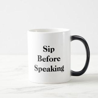 Sip avant tasse Morphing parlante