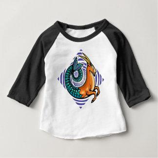sirène de Capricorne T-shirt Pour Bébé