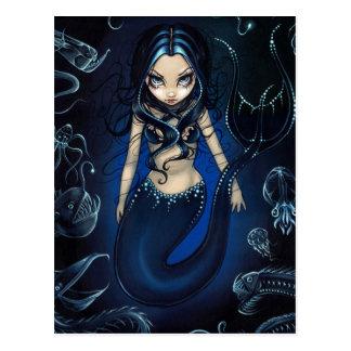 """Sirène"" de la carte postale profonde"