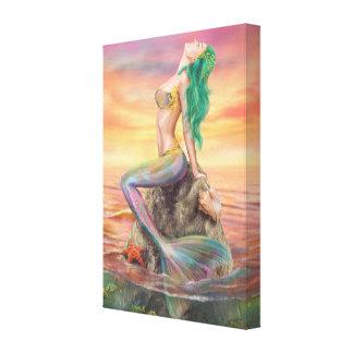 Sirène de toile