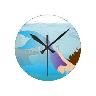Sirène Horloge Ronde