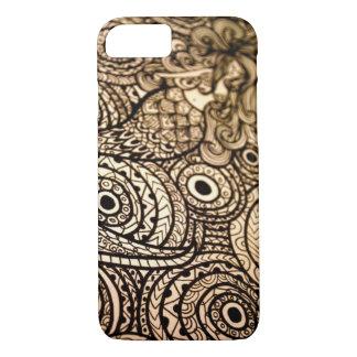 Sirène noire et blanche coque iPhone 7