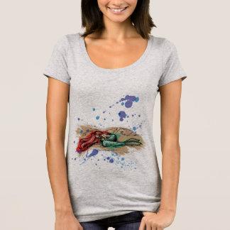Sirène - prochain T-shirt de niveau de cou du