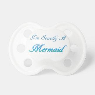 Sirène secrète tétine