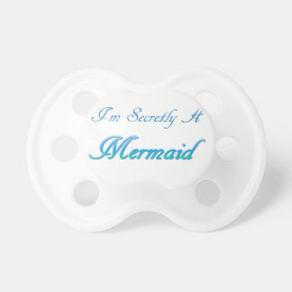 Sirène secrète tétine pour bébé