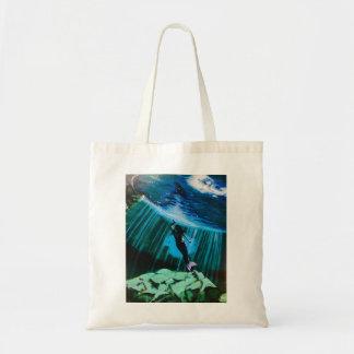 Sirène sous-marine par le sac fourre-tout à John