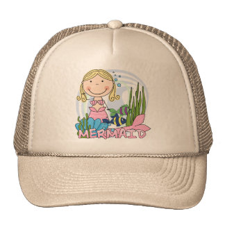 Sirène - T-shirts et cadeaux blonds Casquette