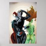 Sirènes Cv4 de Gotham City Affiche
