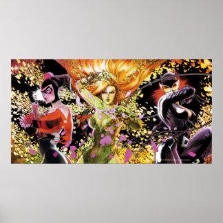 Sirènes Cv5-6-7 de Gotham City Posters
