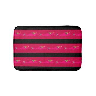 sirènes roses de natation tout arrière - plan tapis de bain