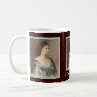 Sisi - Elisabeth de la Bavière - impératrice de Mug Blanc