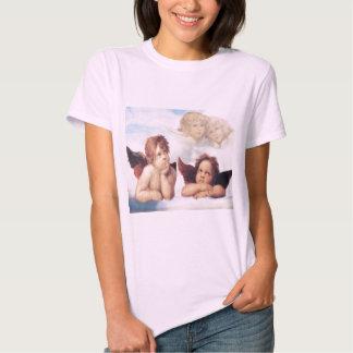 Sistine Madonna 2 anges par Raphael T-shirt