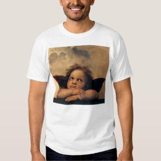 Sistine Madonna, détail d'anges par Raphael T-shirt