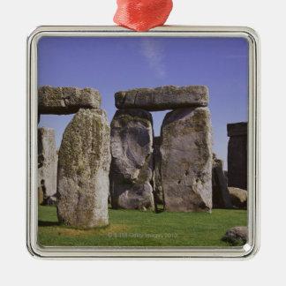 Site archéologique de Stonehenge, Londres, Ornement Carré Argenté