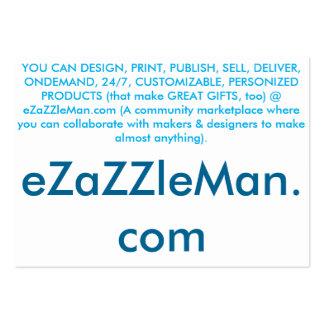 SITE WEB libre de commerce en ligne - carte Carte De Visite Grand Format