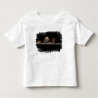Six coquilles sur une étagère en pierre, 1696 t-shirt pour les tous petits