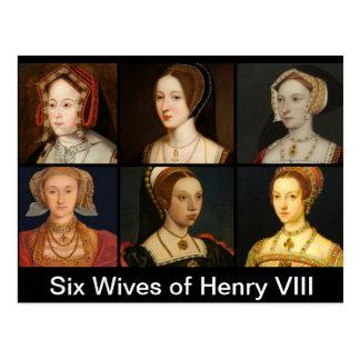 Six épouses de carte postale de Henry VIII