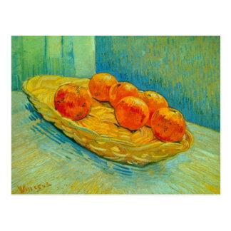 Six oranges par Vincent van Gogh Carte Postale