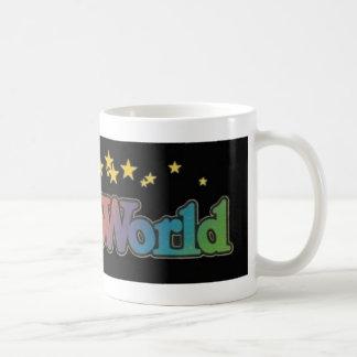 Six parcs d'attractions d'Astroworld de drapeaux Mug