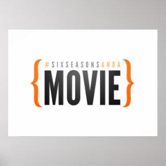 Six saisons et un film affiche