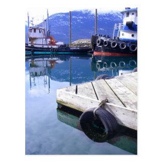 Skagway, tractions subites de l'Alaska Cartes Postales