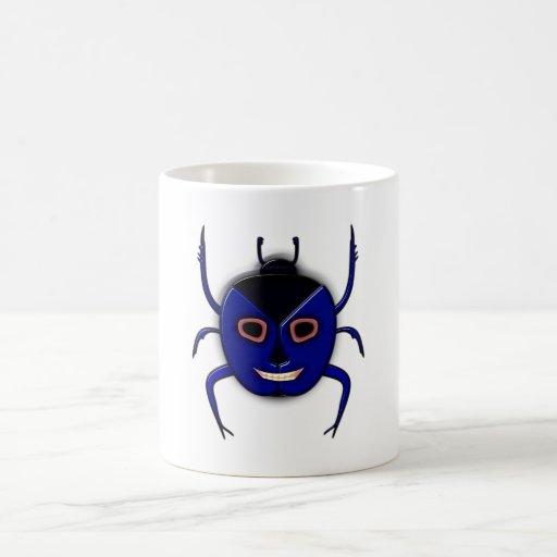 Skarabäus scarab tête de mort crâne skull mug à café