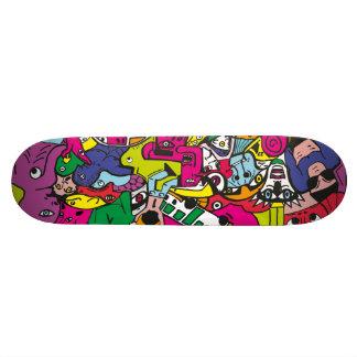 Skate board Part-Take Skateboard Old School 18,1 Cm