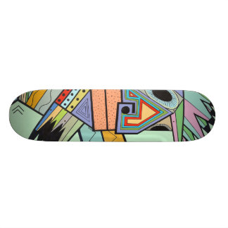 """Skateboard 19,7 Cm """"Bloquez à Brooklyn"""" par Ruchell Alexandre (le"""