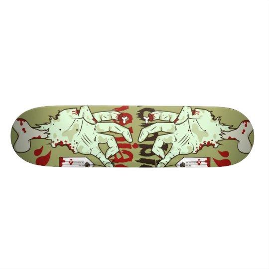 Skateboard 19,7 Cm board Zombie manaic