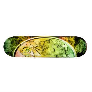 Skateboard 20,6 Cm (Lion side)