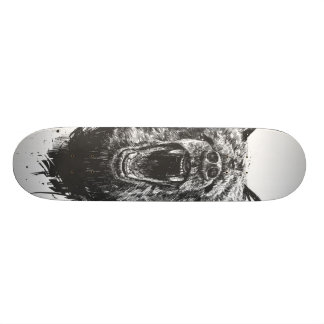 Skateboard 20,6 Cm Ours fâché