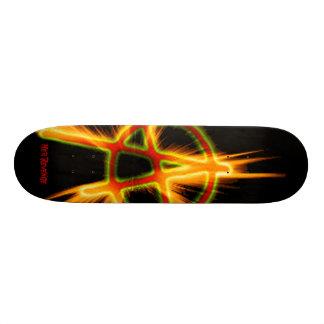 Skateboard 20,6 Cm Sa planche à roulettes d'anarchie de vengeance