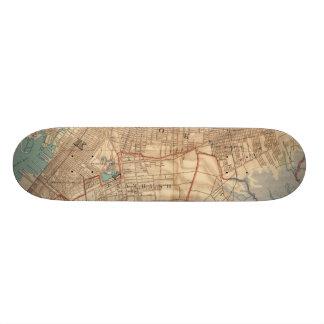 Skateboard 20 Cm Baie et Brooklyn de la Jamaïque