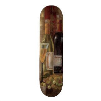 Skateboard 20 Cm Graffiti et vin
