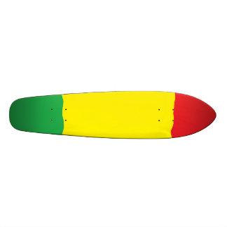 Skateboard 20 Cm Planche à roulettes de croiseur de bombe de Rasta