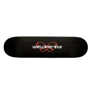 Skateboard 20 Cm Planche à roulettes de logo de sanctuaire d'âme