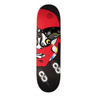 Skateboard 21,6 Cm Plat d'EFFET DE LORENZ de planche à roulettes