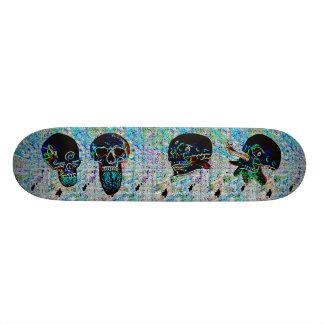 Skateboard 21,6 Cm Ville foncée