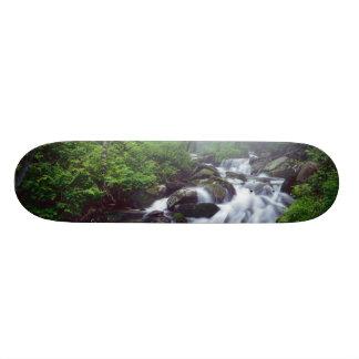 Skateboard Crique de crique de Linn cascadant par brumeux