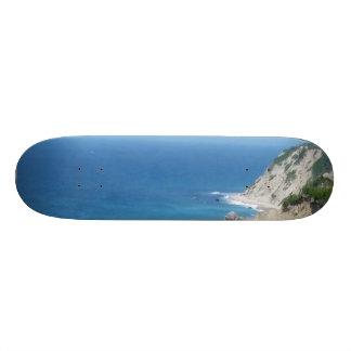 Skateboard Customisable Bluffs d'Île de Block - Île de Block, Île de Rhode
