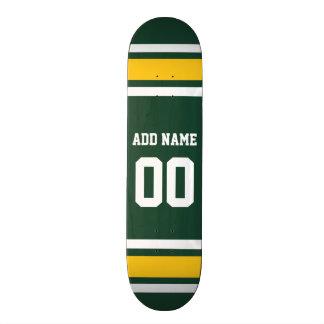 Skateboard Customisable Nombre nommé fait sur commande du Jersey du