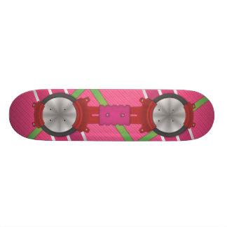Skateboard Customisable Panneau rose de vol plané (JUSTE un GRAPHIQUE ! !)