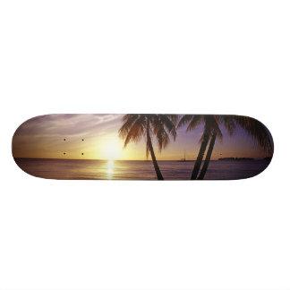 Skateboard Customisable Plages chez Negril, Jamaïque 3