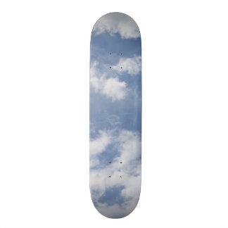 Skateboard Customisable Planche à roulettes de nuages