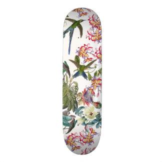 Skateboard Customisable Planche à roulettes florale animale de faune